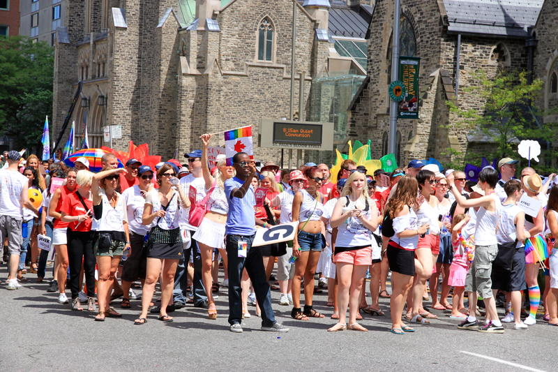 Download Toronto Gay Pride Parade 2011 Editorial Image - Image: 20159690