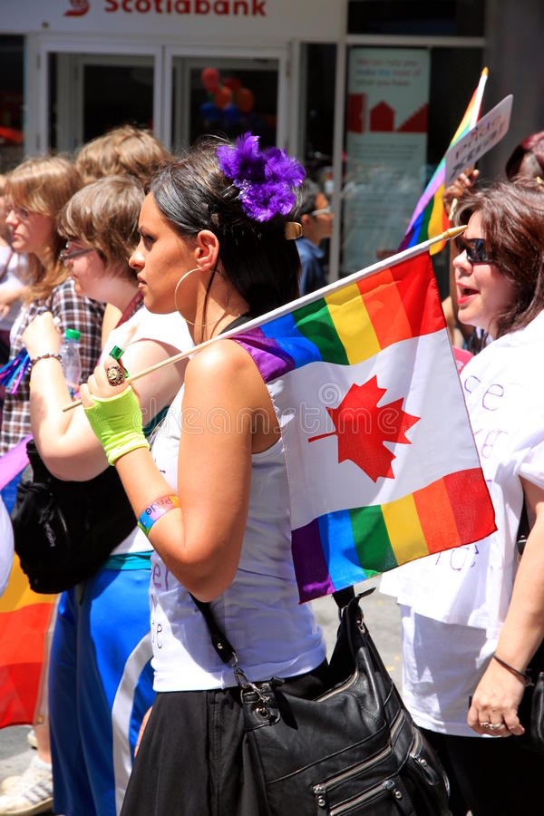 Download Toronto Gay Pride Parade 2011 Editorial Image - Image: 20164620