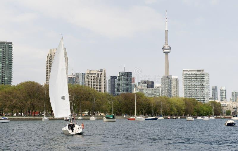 Toronto harbourfront lizenzfreie stockbilder