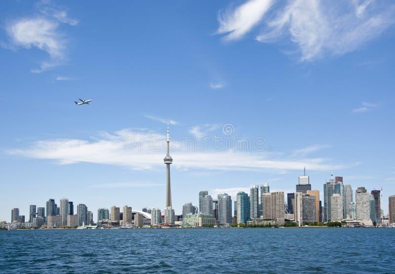 Toronto horisont royaltyfri fotografi