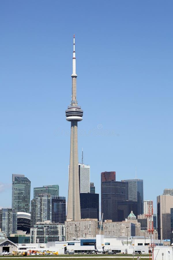 Toronto-Insel-Flughafen stockfotos