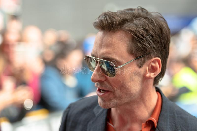 Toronto International Film Festival TIFF 2018, Canada. Toronto, Canada-September 8, 2018: Hugh Jackman. Celebrities attending this year TIFF. The Toronto stock photo