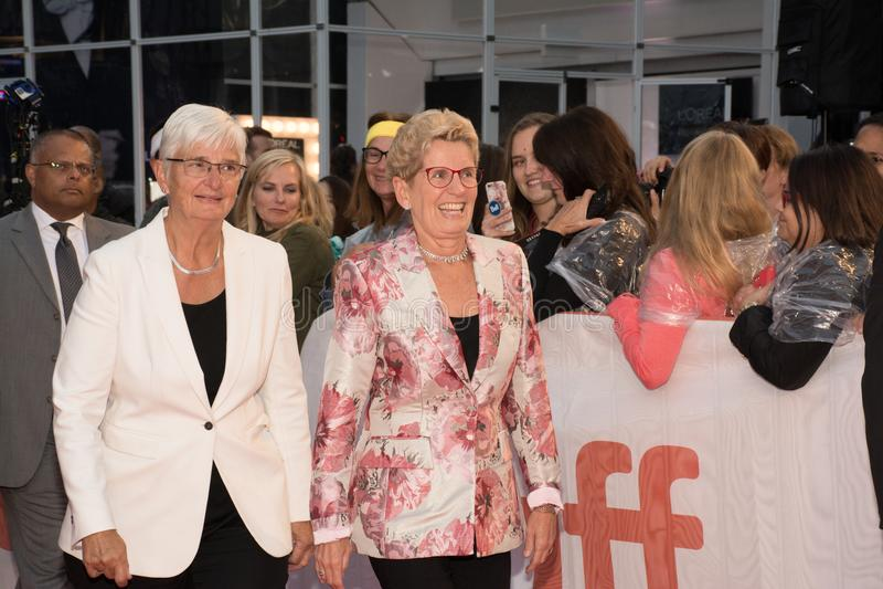 2017 Toronto internationell filmfestival - `-premiär för ` Borg/McEnroe - röd matta arkivbilder