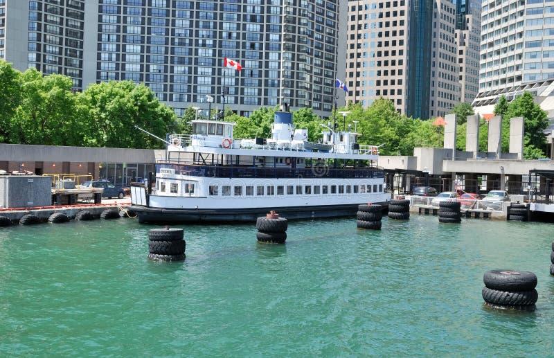 Toronto Island Ferry stock photography