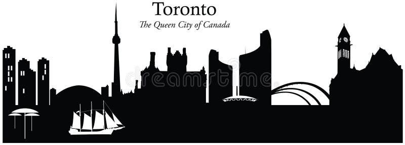 Toronto, Kanada stock abbildung