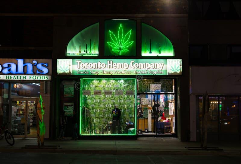 Toronto Konopie Firma fotografia royalty free
