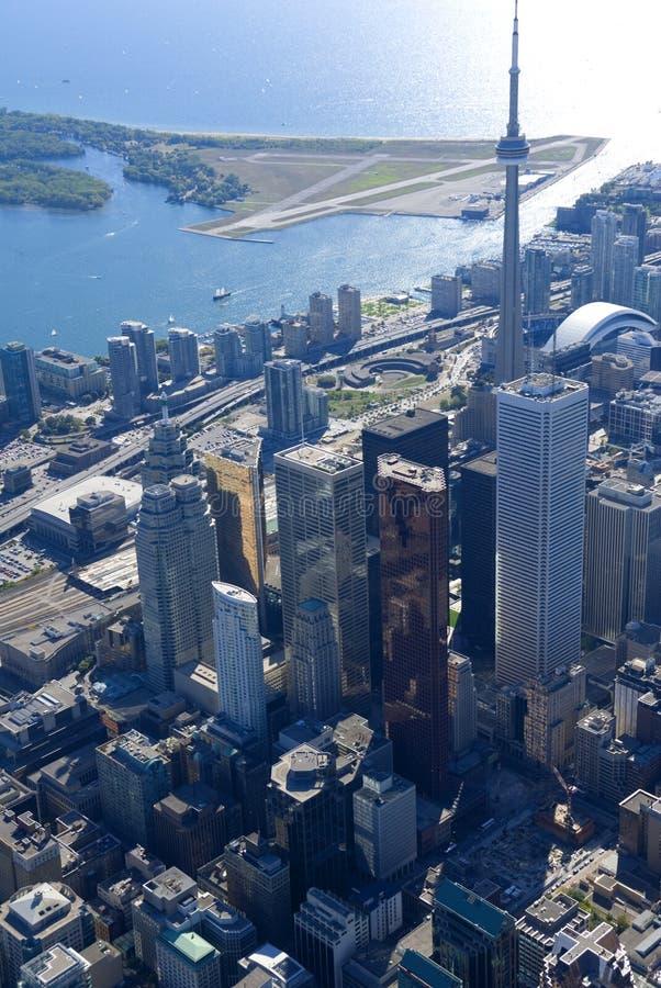 Toronto-Kontrolltürme lizenzfreie stockfotos