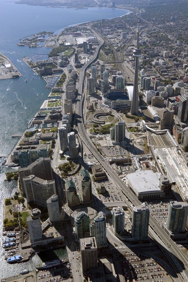 Toronto-Kontrolltürme stockfotos
