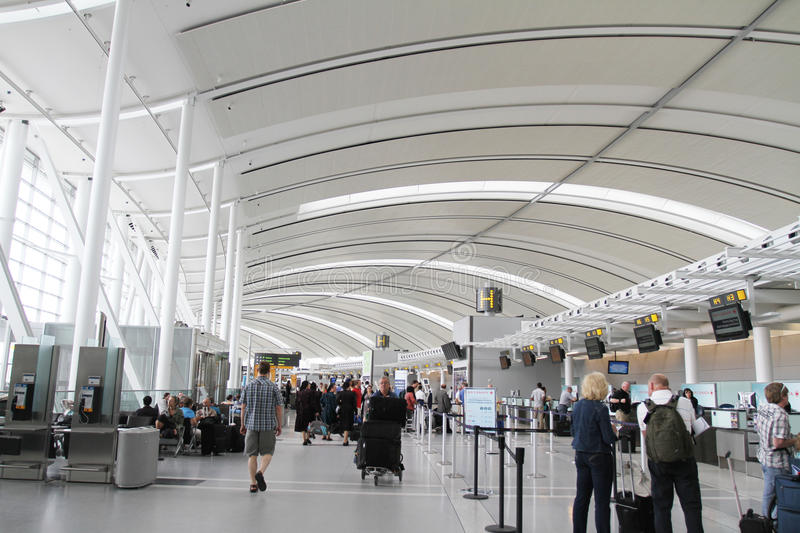Toronto Lester B. Pearson International Airport Editorial Photography