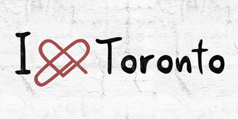 Toronto love icon. Creative design of Toronto love icon stock illustration
