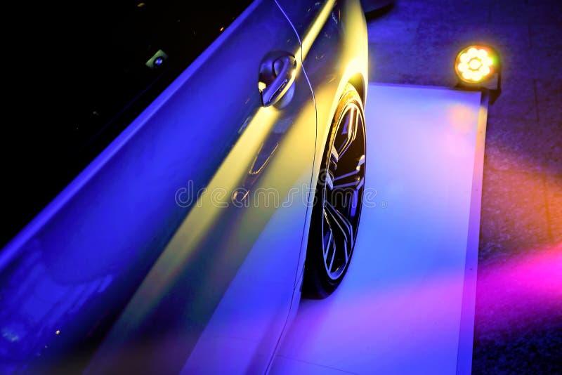 Luxury car show royalty free stock photos