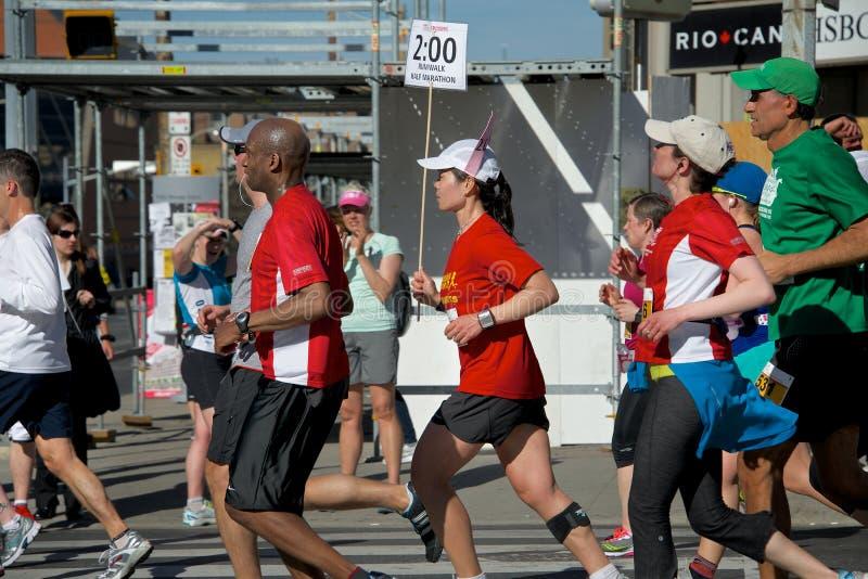 Toronto-Marathon stockfotos