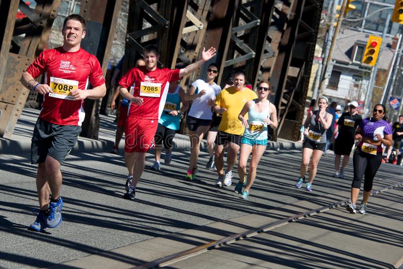 Toronto Marathon Editorial Photo