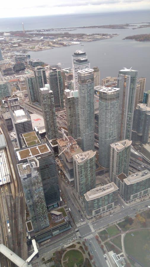 Toronto miasto w Kanada zdjęcie royalty free