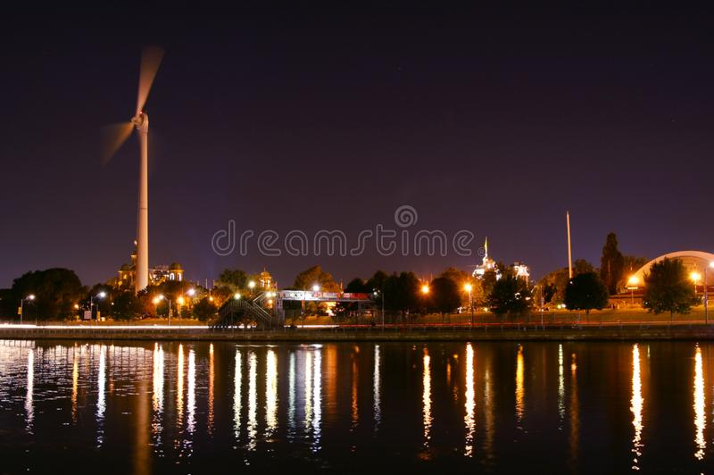 Toronto at Night royalty free stock images