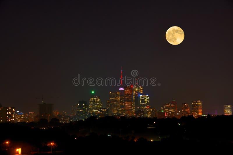 Toronto Noc obrazy stock
