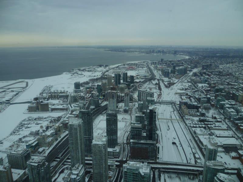 Toronto od nieba obrazy royalty free