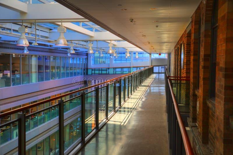 Toronto Office building interior royalty free stock photo