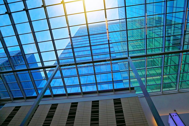 Toronto Office building interior stock image