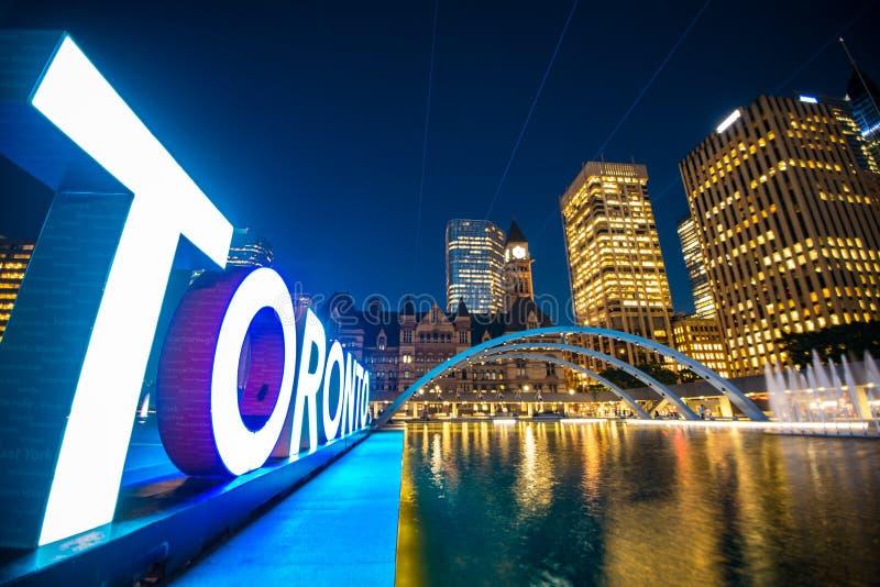 Toronto Ontario Kanada royaltyfria foton