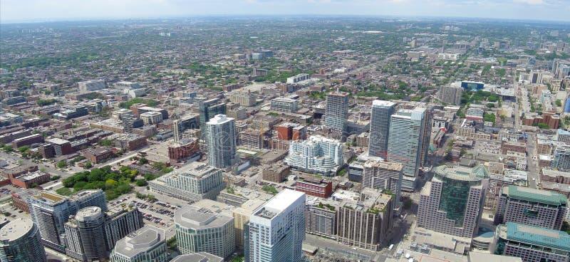 Toronto panorama fotografering för bildbyråer