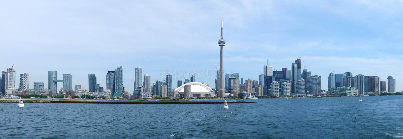 Toronto panorama obrazy stock