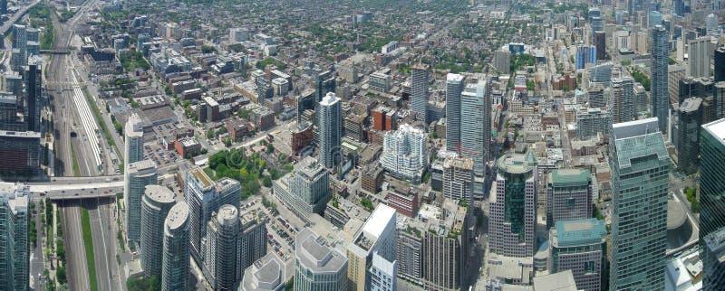 Toronto panorama arkivfoton