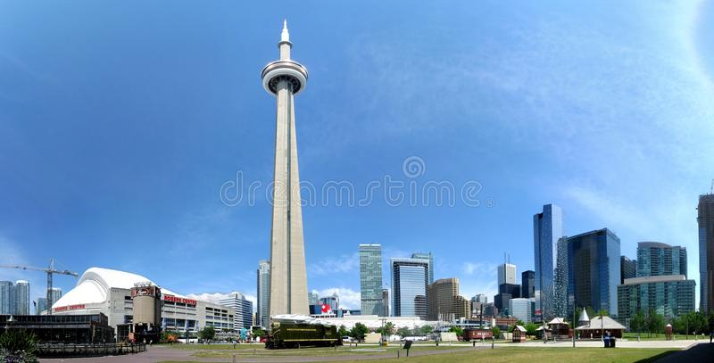 Toronto panorama stock photography