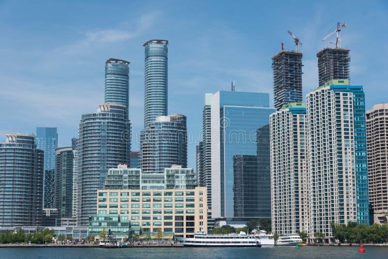 Toronto pejzaż miejski obrazy royalty free