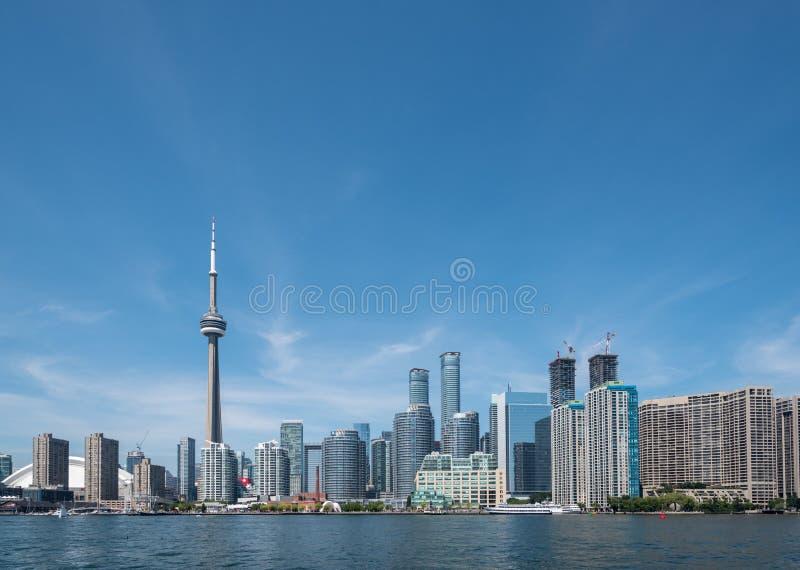Toronto pejzaż miejski zdjęcia royalty free