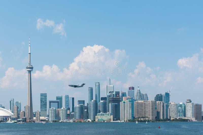 Toronto pejzaż miejski fotografia stock