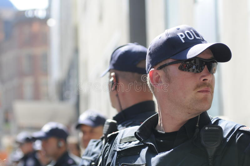 Toronto police officers.