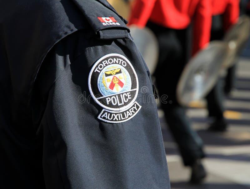 Toronto-Polizei-Uniform lizenzfreies stockbild