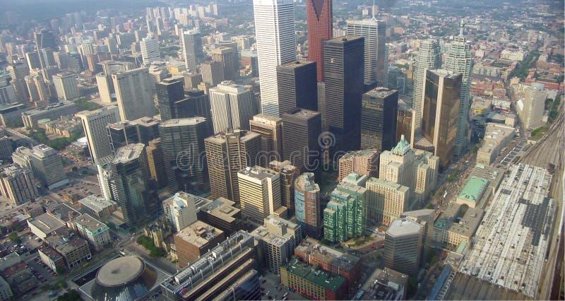 Toronto powietrza obraz stock