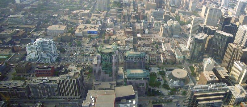 Toronto powietrza fotografia stock