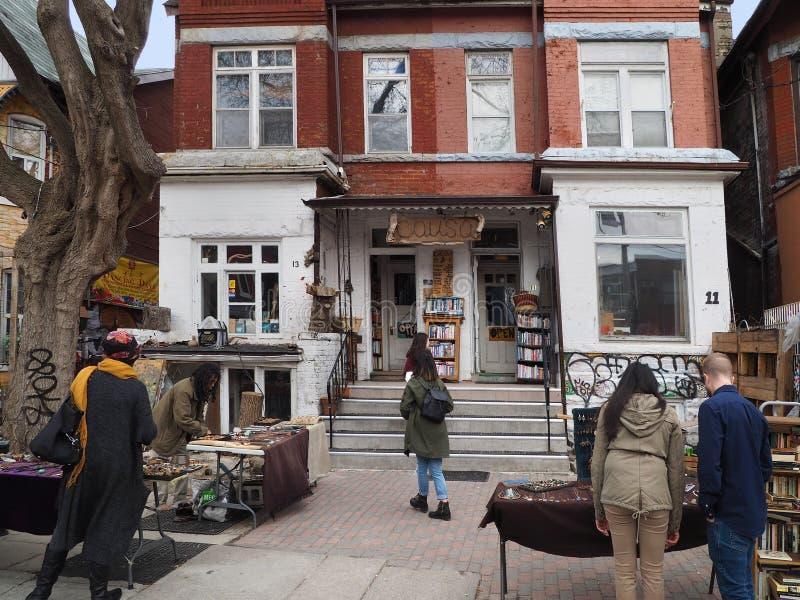 Toronto`s Kensington Market stock photos