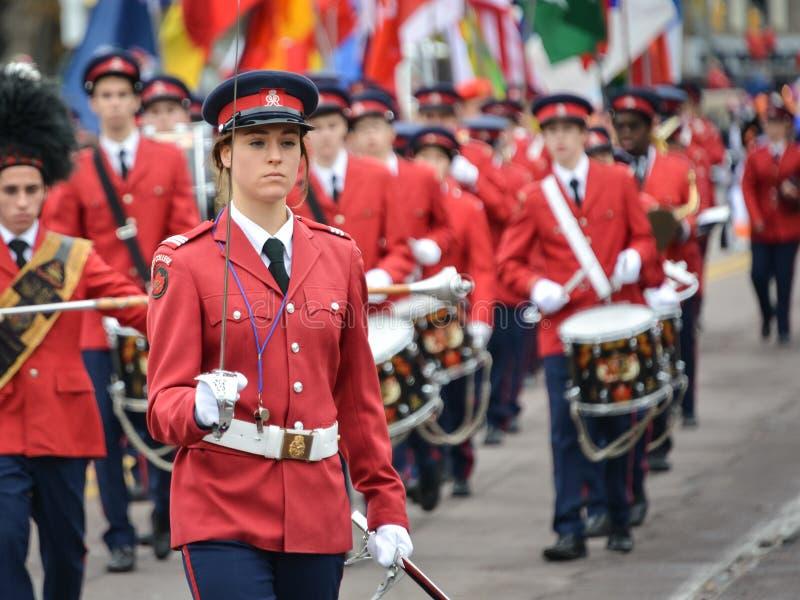 Toronto 2013 Santa Claus Parade photos libres de droits