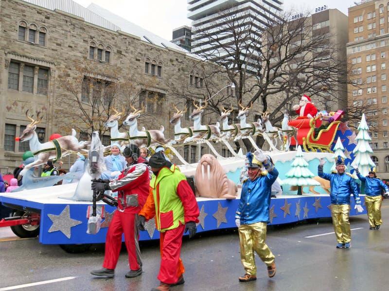 Toronto Santa Claus Parade 2016 stockfotos