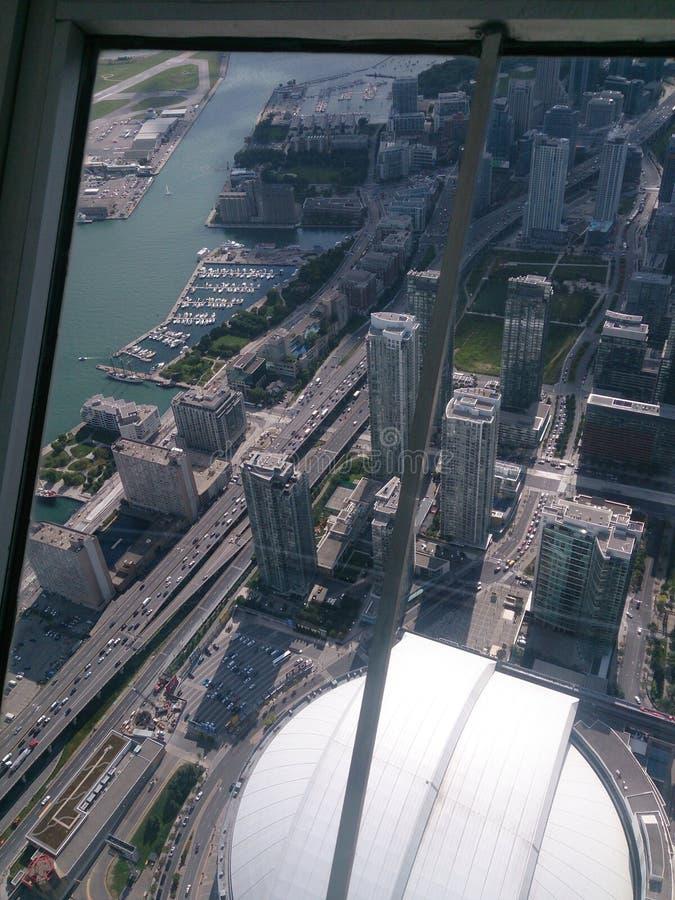 Toronto, sensação da torre da NC tão poderosa foto de stock