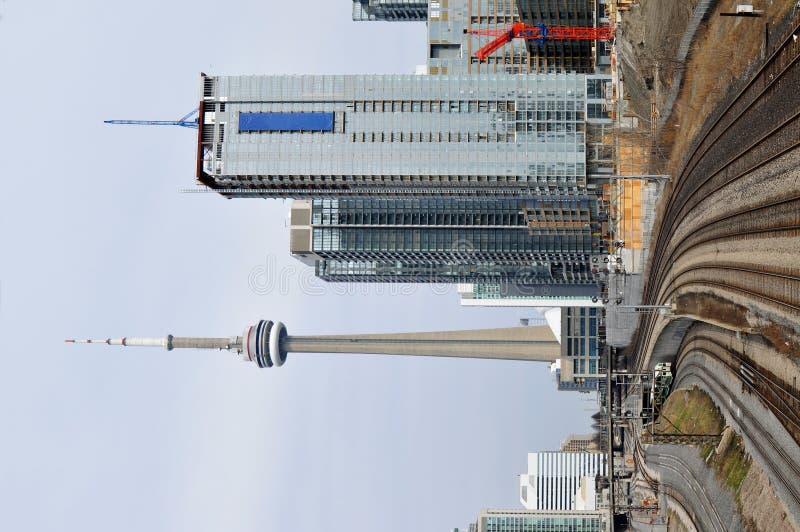 Toronto-Skyline stockbild