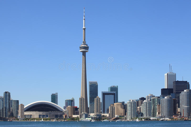 Download Toronto skyline stock image. Image of harbor, highrise - 25362253