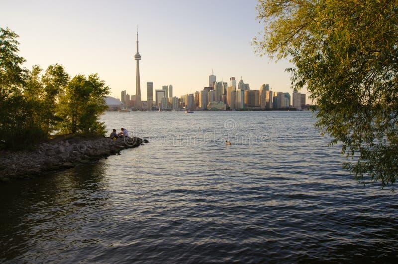 Download Toronto-Skyline stockbild. Bild von hauptstadt, großartig - 26366407