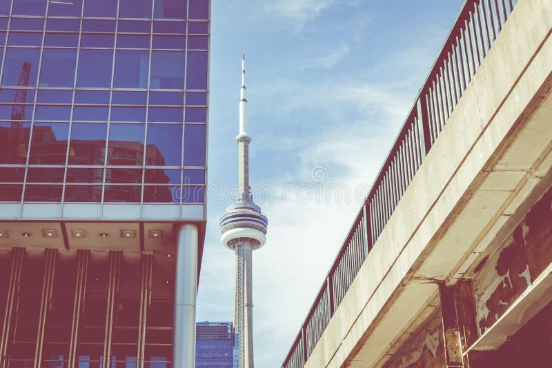 Toronto-Skyline, Kanada stockfotos