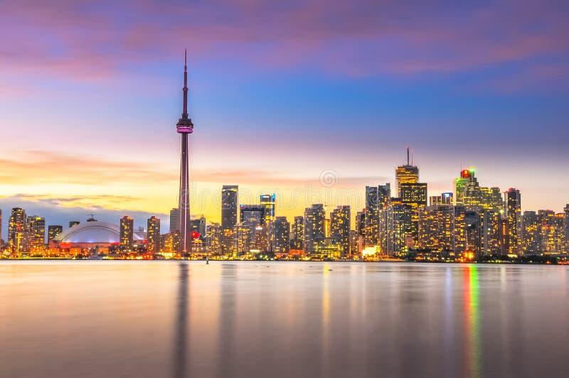 Download Toronto Skyline stock image. Image of ontario, color - 50605679
