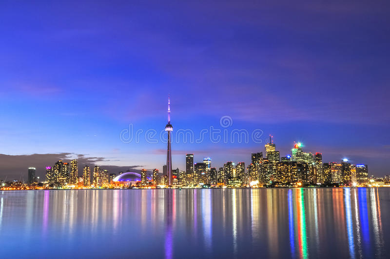 Download Toronto Skyline stock image. Image of colour, centre - 50605973