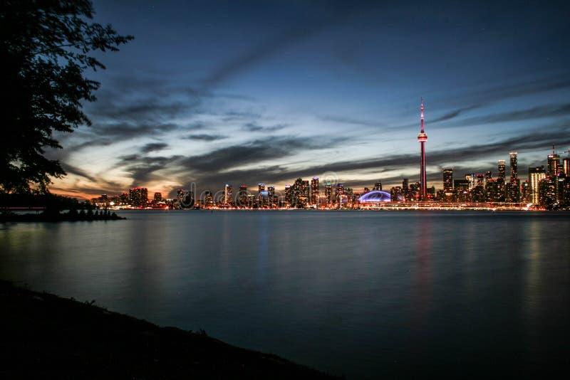 Toronto skyline stock image