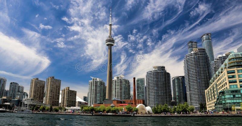 Toronto skyline royalty free stock images