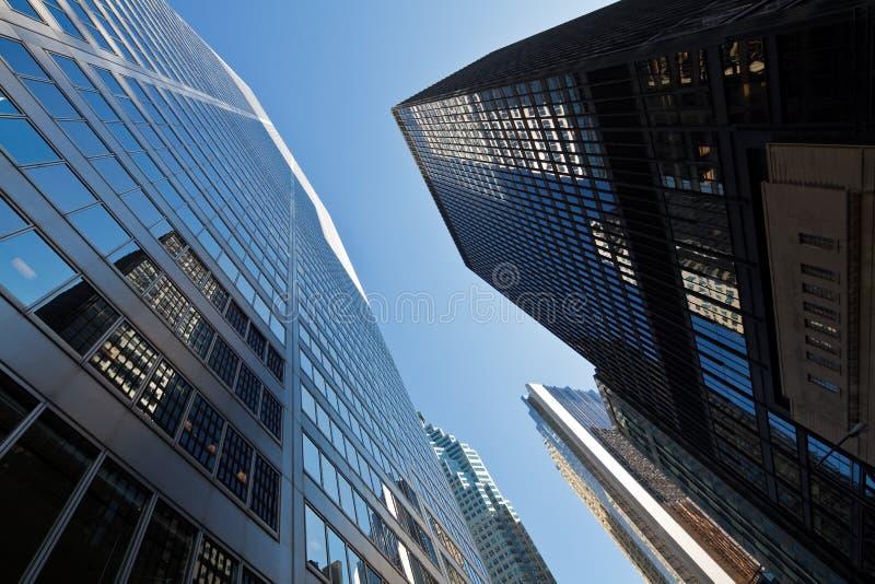 Toronto skyskrapor arkivbild