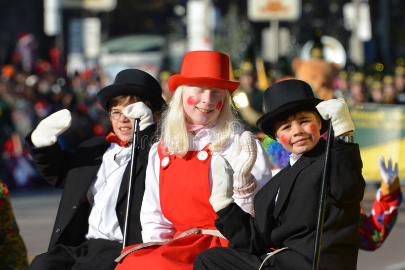Toronto Ståtar 108. Santa Claus Redaktionell Fotografering för Bildbyråer