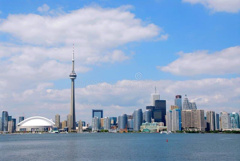 Toronto-Stadt-Skyline stockfotografie